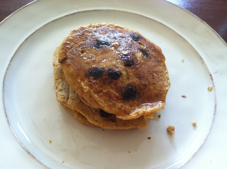 "Chocolate Chip Pumpkin Pancakes - yum! | The term is ""Delicious"" - ..."