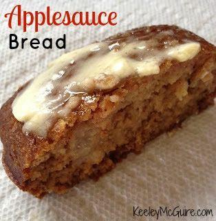 flour 1 t ground cinnamon 1/2 t kosher salt 1 1/2 cups of applesauce ...
