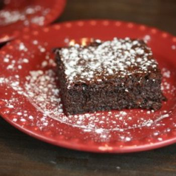 Triple Chocolate Flourless Brownies | sugar - FREE | Pinterest