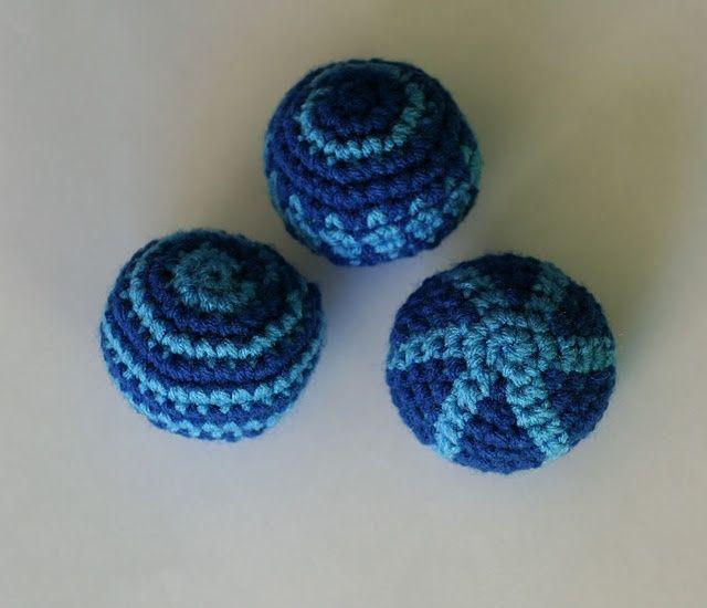 Amigurumi Ball Tutorial : Crochet Ball - Tutorial. crochet Pinterest