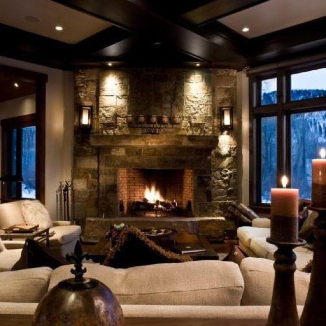 Beautiful Cozy Room Home Furnishings Pinterest