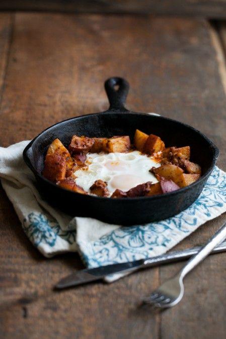 Potato Masala and Egg Skillet | Recipe
