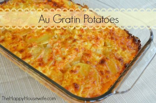 Au Gratin Potatoes | Recipe