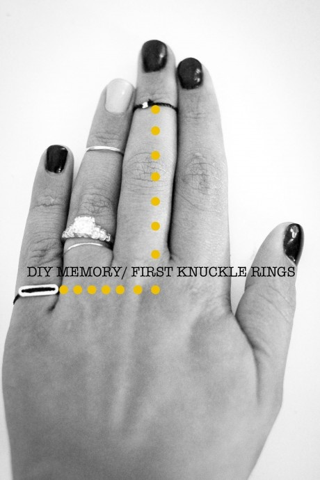 First Knuckle Rings