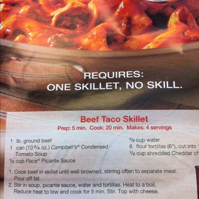 Beef Taco Skillet | Favortie Recipes | Pinterest