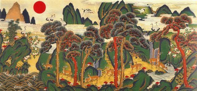 korean traditional art | art | Pinterest