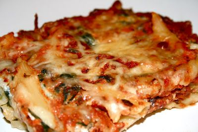 baked ziti with spinach | Food | Pinterest