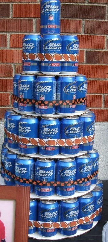 Beer Tower Craft Ideas Pinterest