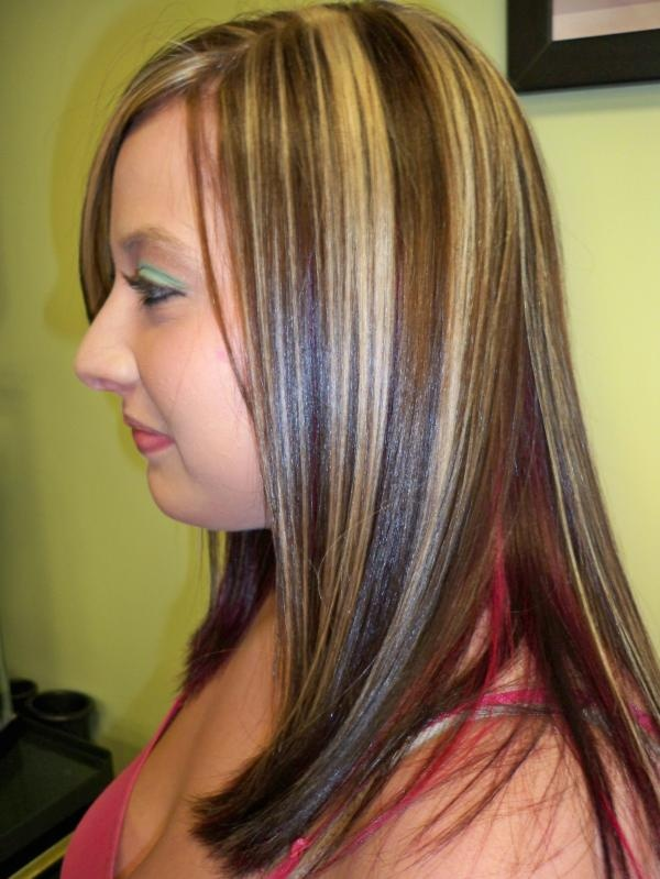 Chunky highlights, what I want to do with my hair when I get my hair ...