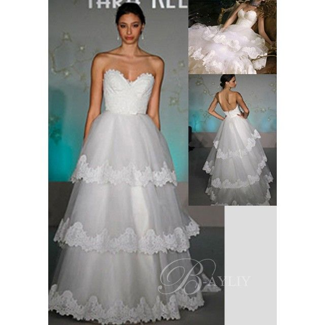 Robe de mariée Couture pas cher robe multi-couche Organza Dentelle ...