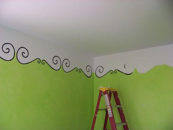 Ceiling idea.