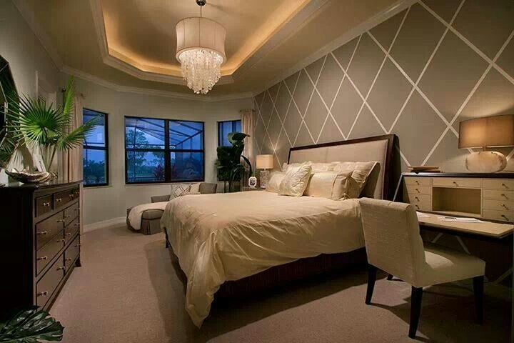 Love The Accent Wall Master Bedroom Ideas Pinterest