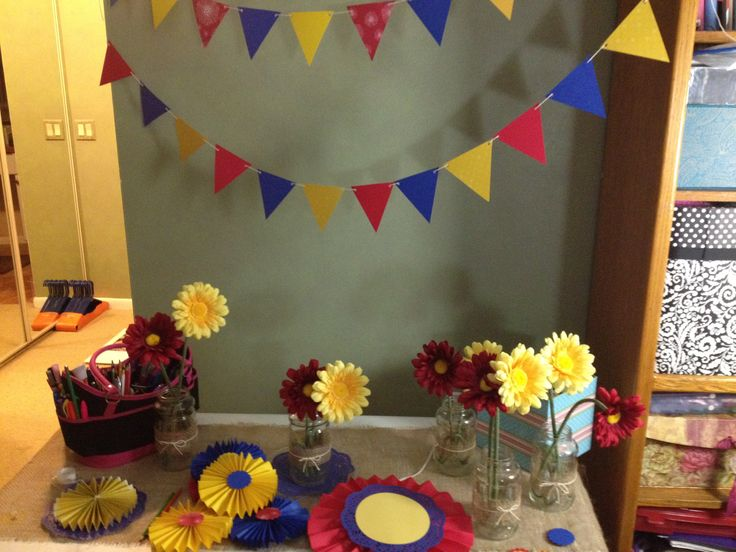 Colombian Banner And Decor Mimas 90th Colombia Theme