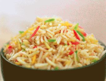 Confetti Rice Pilaf | Hinode in the Kitchen | Pinterest