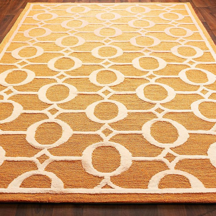 Indoor Outdoor Carved Ellipse Rug Available in 5 Colors