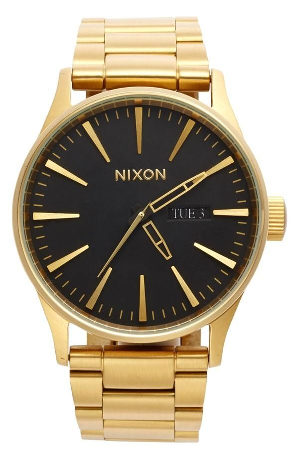 black gold nixon dress up