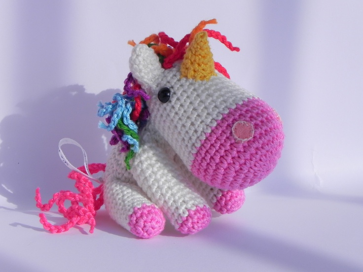 Crochet Unicorn : Amigurumi Unicorn - my next project craft YARN CROCHET ...