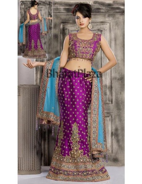 Royal purple and sky blue combination indian pinterest - Purple and blue combination ...