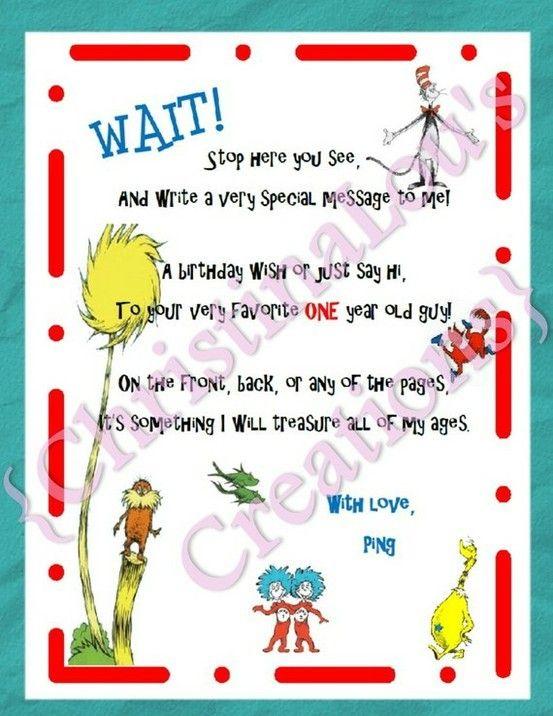 Dr Seuss Party   Dr Seuss birthday   Pinterest