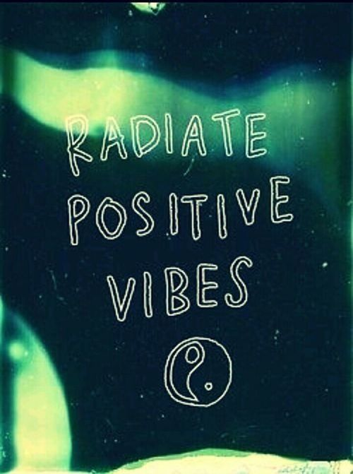 radiate positive vibes Positive Vibes Wallpaper