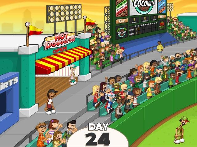 papas hot dog stand