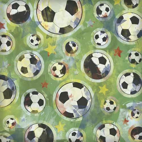 Soccer Free Printable Scrapbook Paper