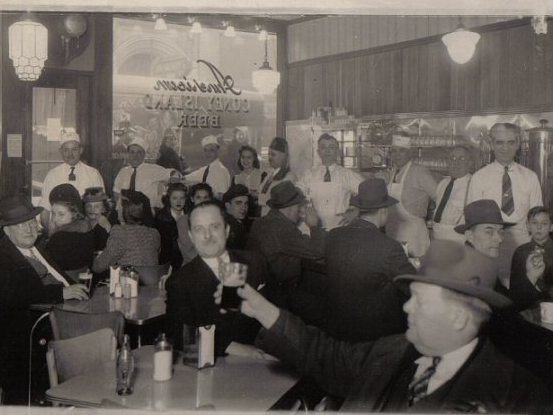 Patrons pack in at American Coney in this undated photo.
