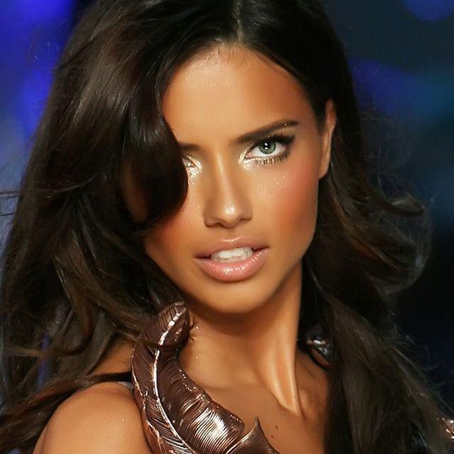 Adriana Lima makeup : Beauty : Pinterest