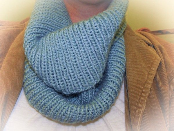 Easy Knitting Ideas Pinterest : Easy knit cowl crafts gift ideas pinterest