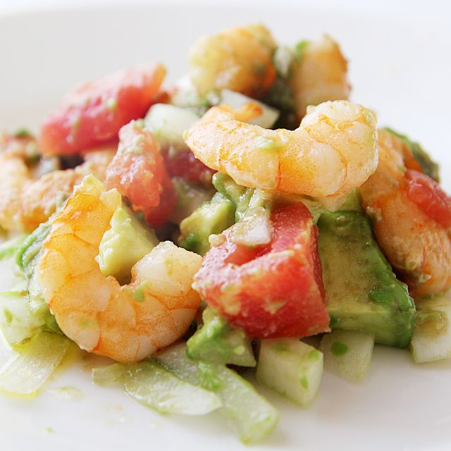 Avocado and Shrimp Salad Recipe | food and drink | Pinterest