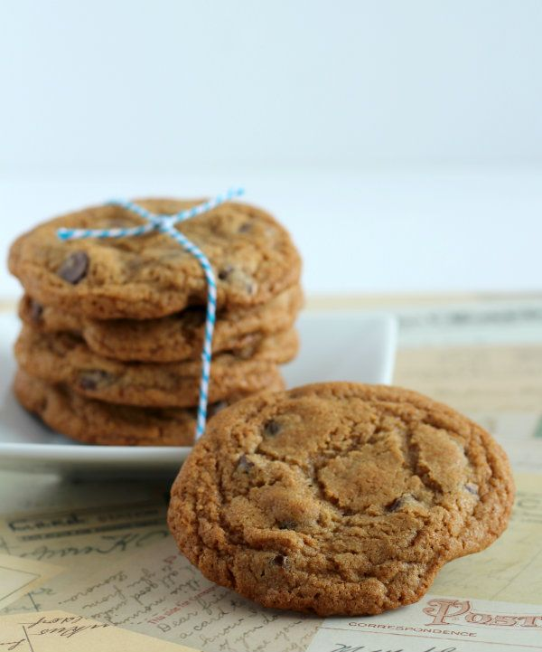 whole wheat chocolate chip cookies from @Rachel Cooks | Rachel Gurk