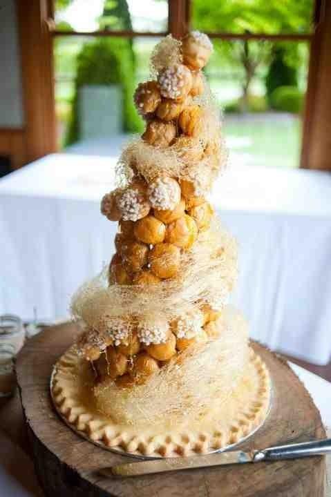 French Profiterole Cake