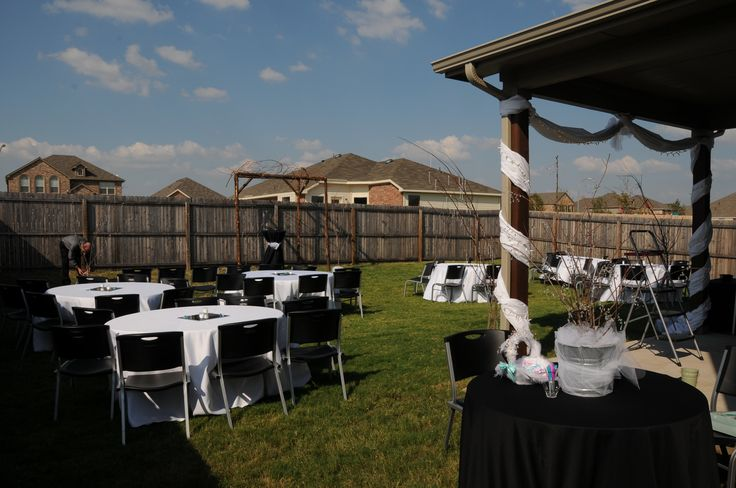 Small Back Yard Wedding Ideas