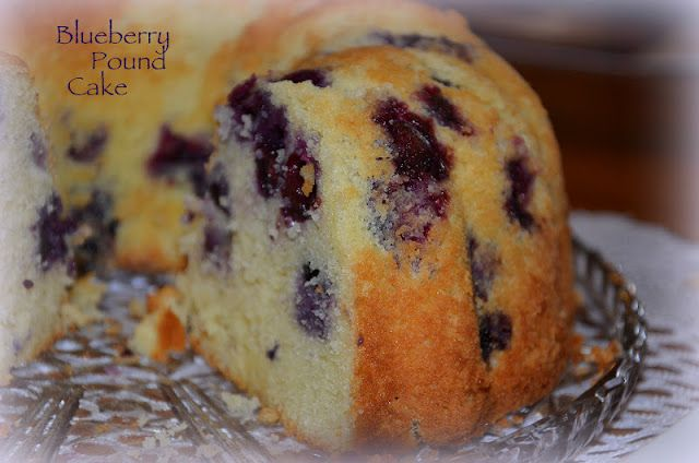 CultureMix: Blueberry-Lime Pound Cake! | Garden | Pinterest