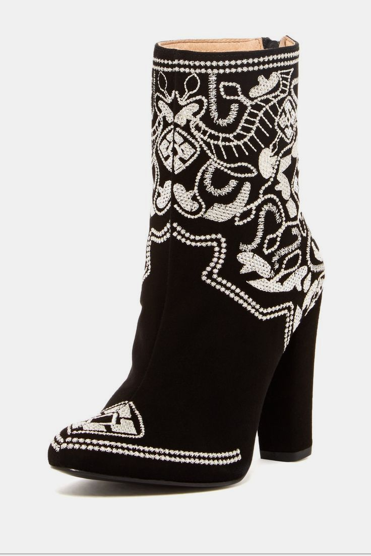 Plomo Pilar Embroidered High Heel Boot