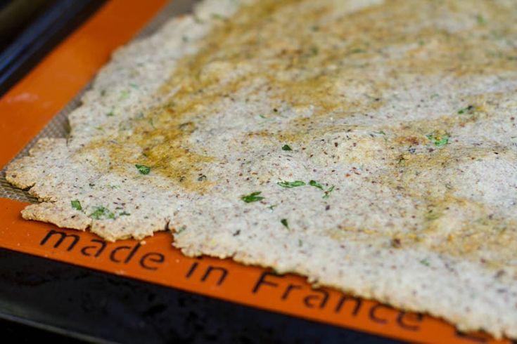 Gluten-Free Almond & Buckwheat Flour Pizza Dough (needs rolling pin)