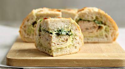 Turkey & Swiss Stuffed Sammie | Salad, Soups & Sandwiches | Pinterest