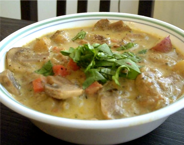 recipe hearty mushroom amp potato soup poor girl eats well how to eat ...