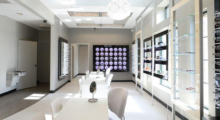Carolina family eyecare optical shop design optical for Optical store designs interior