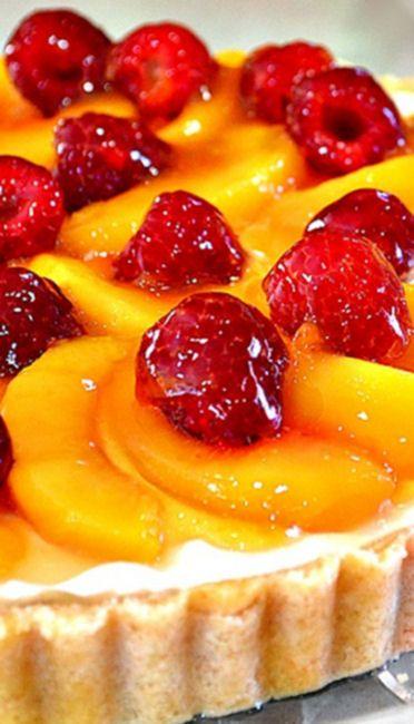 Peaches & Cream Tart | Recipe