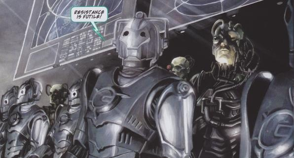 you will be assimilated  and upgraded You Will Be Assimilated Cybermen