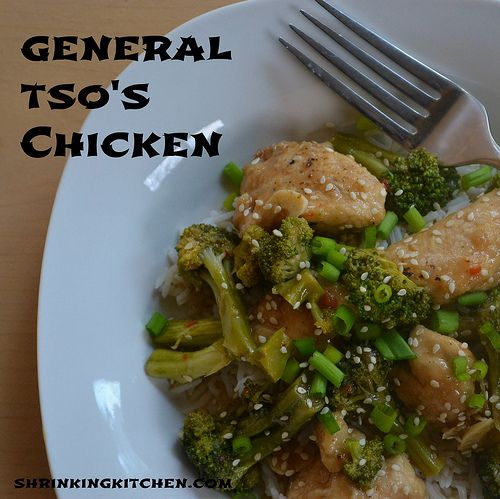 Love Chinese takeout but don't love the fat and calories? Try our General Tso's Chicken! So good, so easy and so much better for you!