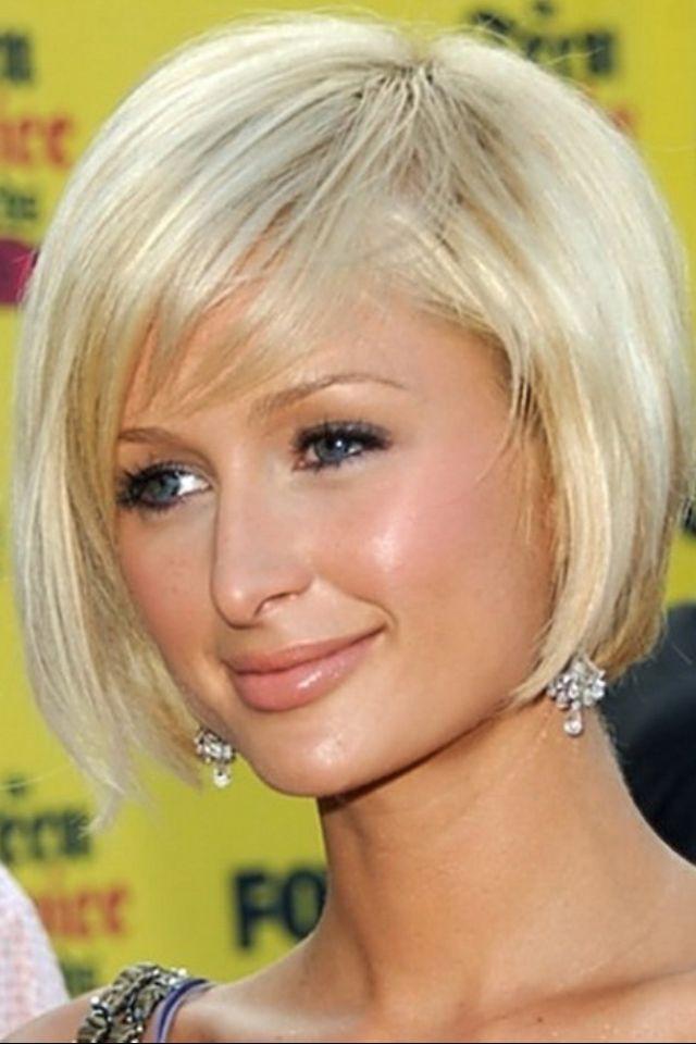 Short blonde hair Hair