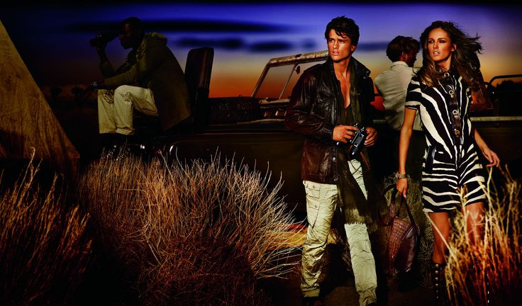 African Safari with Michael Kors, Spring 2012 Ad Campaign. gomoneyways 3
