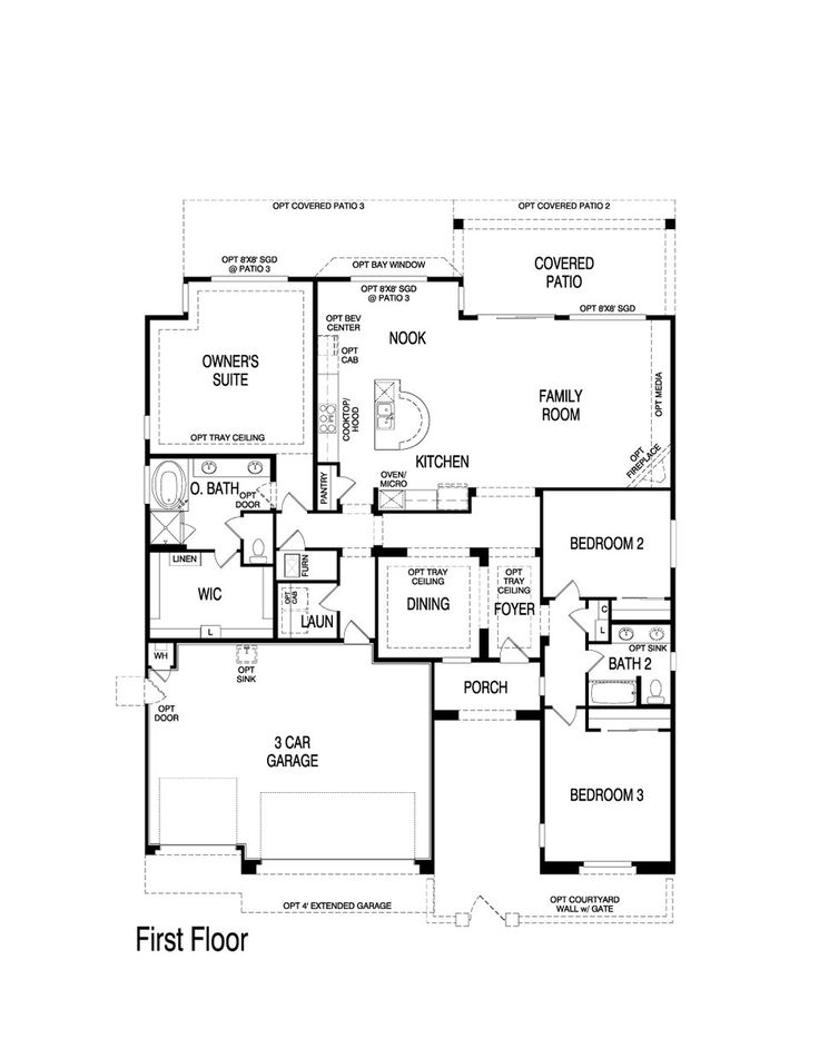 Pin By Nm Home Team On Pulte Homes Floor Plans Pinterest