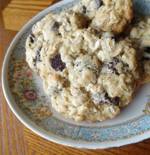 Nick Malgieri's Chewy Oatmeal Raisin Cookies