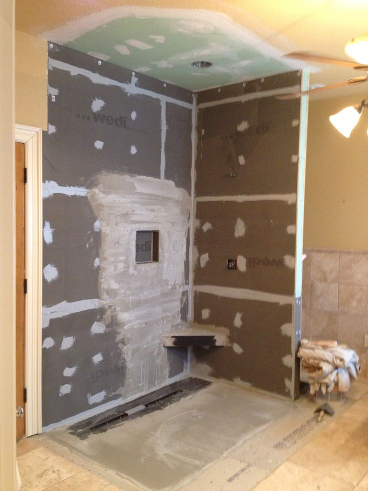 wedi shower system master renovation project pinterest. Black Bedroom Furniture Sets. Home Design Ideas