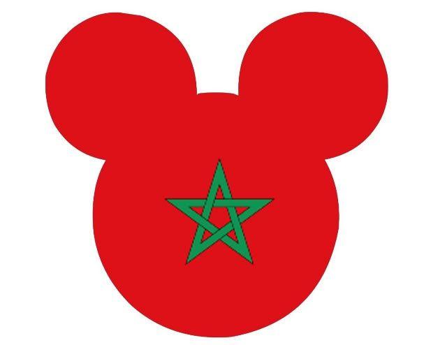 morocco mickey head flag | Epcot Center | Pinterest