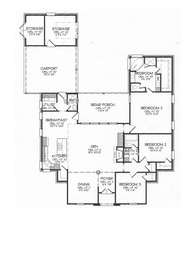 Pin by tammy holliday on house plans pinterest for Slab foundation house plans