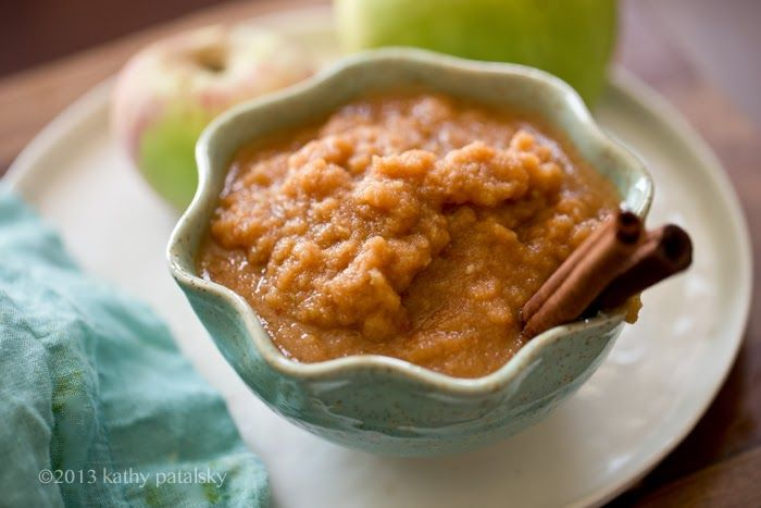 60-Second Applesauce. Raw or Simmered + Maple-Cinnamon. by Kathy ...
